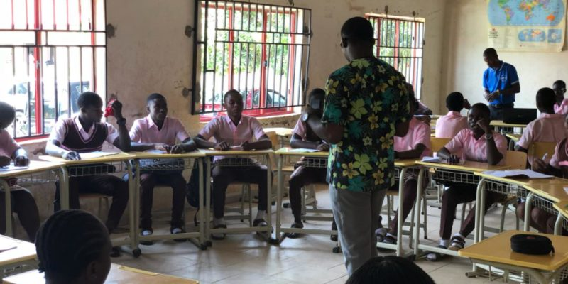 Creating Safe Spaces for better choice  By Ukwa Raymond
