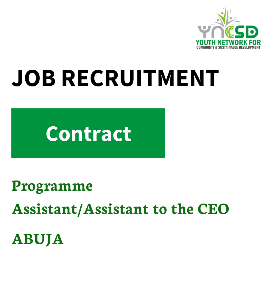 Terms of Reference – Programme Assistant/Assistant to the CEO