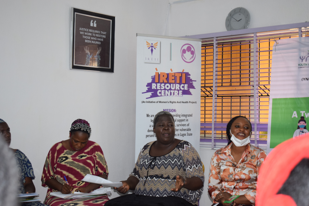 """""""Healthcare workers need a lot of training and capacity building to be able to provide quality care to patients.""""- Eunice Ogunlade"""