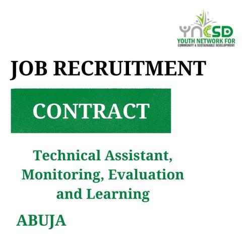 Vacancy – Technical Assistant (MEL)